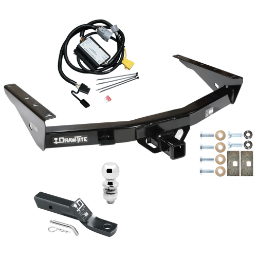 small resolution of trailer tow hitch for 01 02 toyota tundra complete package w wiring and 2 ball