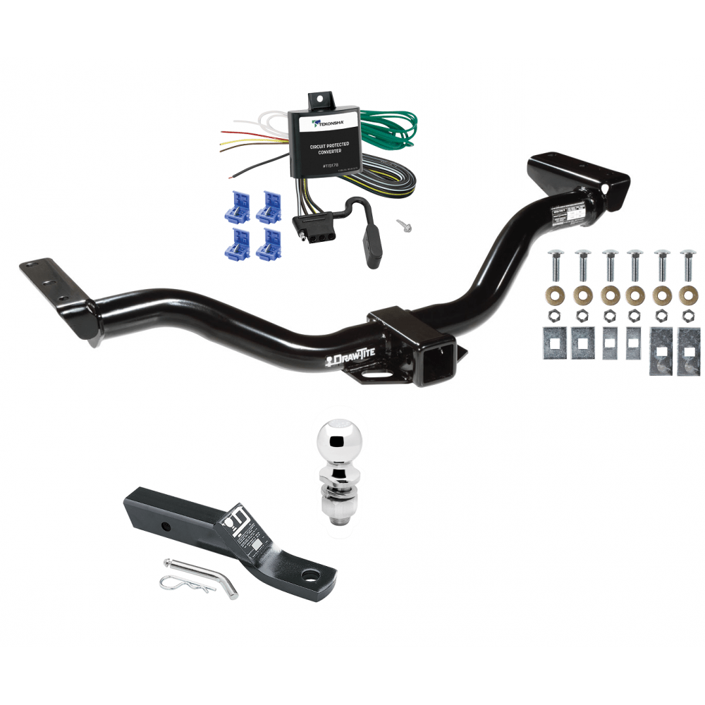 medium resolution of trailer tow hitch for 00 04 nissan xterra complete package w wiring and 2 ball