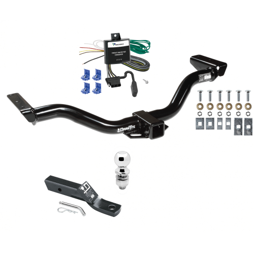 small resolution of trailer tow hitch for 00 04 nissan xterra complete package w wiring and 2 ball