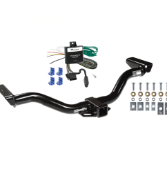 trailer tow hitch for 00 04 nissan xterra w wiring harness kit nissan xterra trailer wiring nissan xterra trailer wiring [ 1000 x 1000 Pixel ]