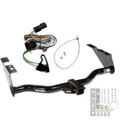 trailer tow hitch for 01 03 chrysler town country voyager dodge grand caravan w wiring harness kit [ 1000 x 1000 Pixel ]