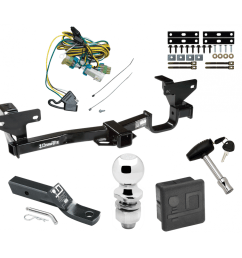 trailer tow hitch for 02 07 buick rendezvous deluxe package wiring 2 ball and lock [ 1000 x 1000 Pixel ]