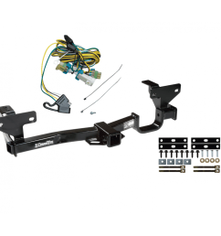 trailer tow hitch for 02 07 buick rendezvous w wiring harness kit 2003 buick rendezvous tone vehicle wiring harness with 4pole flat [ 1000 x 1000 Pixel ]