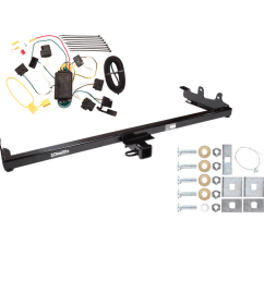 trailer tow hitch for 04 07 ford freestar mercury monterey w wiring harness kit [ 1000 x 1000 Pixel ]