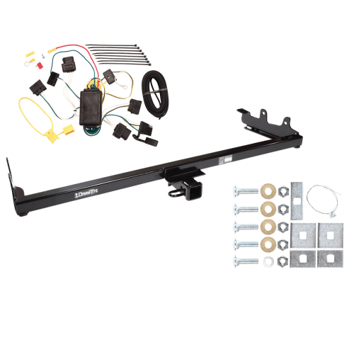 small resolution of trailer tow hitch for 04 07 ford freestar mercury monterey w wiring harness kit