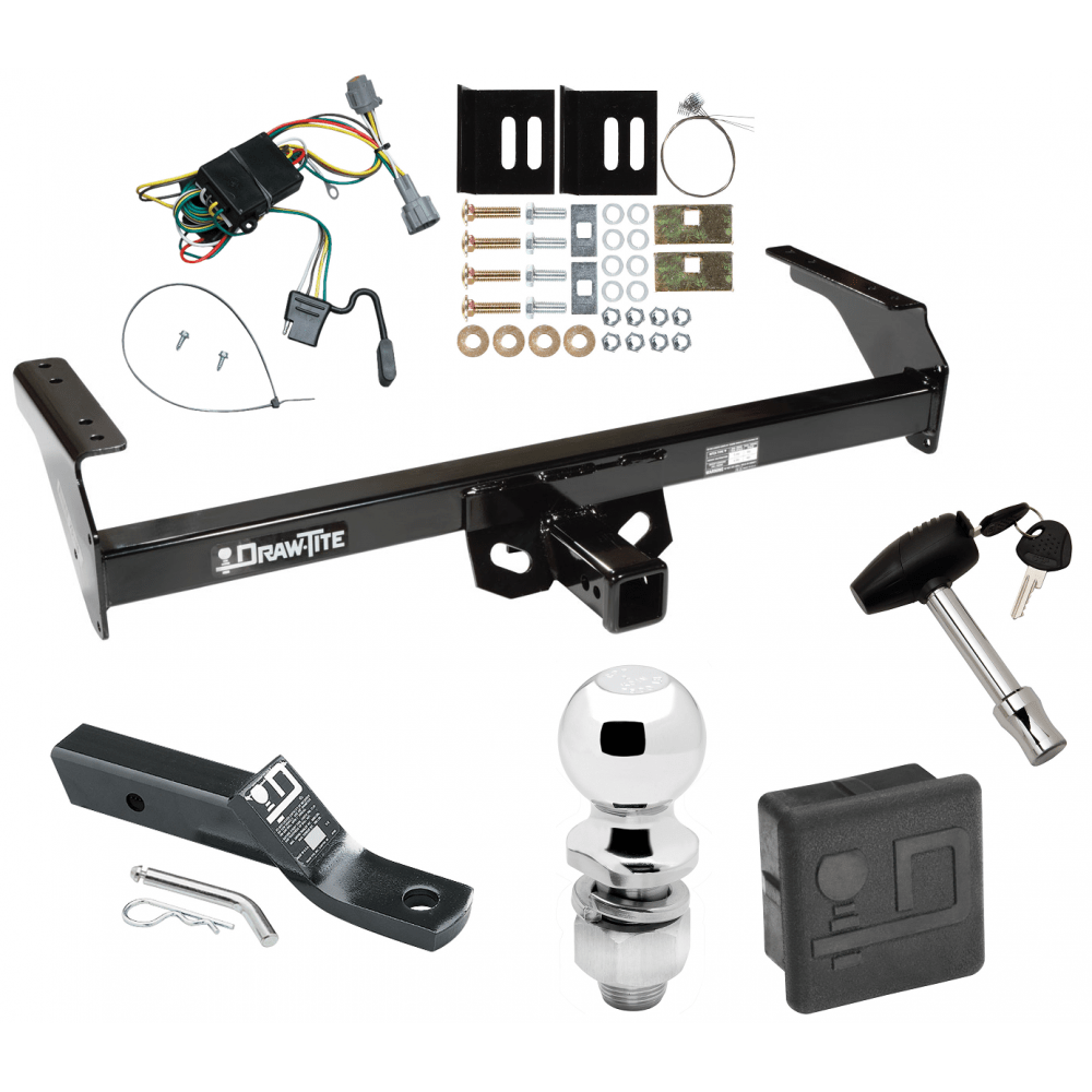 hight resolution of trailer tow hitch for 98 04 nissan frontier deluxe package wiring 2 ball and lock
