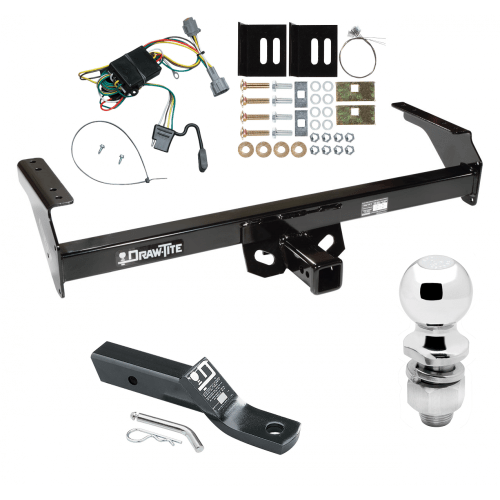 small resolution of trailer tow hitch for 98 04 nissan frontier complete package w wiring and 2 ball