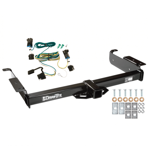 small resolution of trailer tow hitch for 03 19 chevy express gmc savana 1500 2500 3500 w wiring harness kit