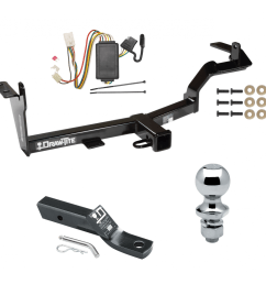 trailer tow hitch for 06 08 mitsubishi endeavor complete package w wiring and 1 7 8 ball [ 1000 x 1000 Pixel ]