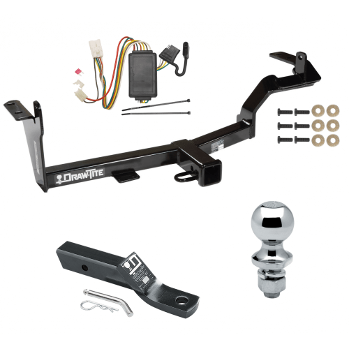 small resolution of trailer tow hitch for 06 08 mitsubishi endeavor complete package w wiring and 1 7 8 ball