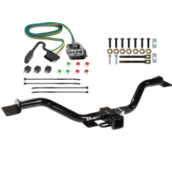 trailer tow hitch for 13 17 buick enclave chevy traverse gmc acadia w wiring harness kit [ 1000 x 1000 Pixel ]