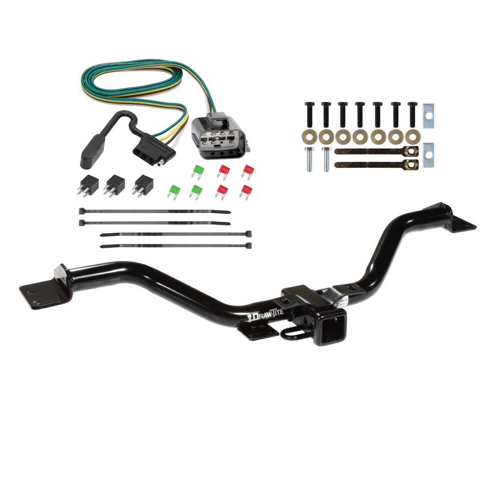 medium resolution of trailer tow hitch for 13 17 buick enclave chevy traverse gmc acadia w wiring harness kit