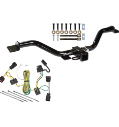 trailer tow hitch for 08 12 buick enclave chevy traverse w wiring harness kit [ 1000 x 1000 Pixel ]