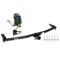 trailer tow hitch for 03 08 honda pilot 01 06 acura mdx w wiring [ 1000 x 1000 Pixel ]