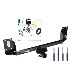 trailer tow hitch for 07 17 bmw x5 except m sport package w wiring harness kit [ 1000 x 1000 Pixel ]