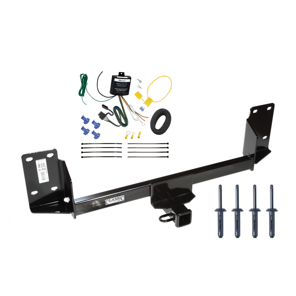 medium resolution of trailer tow hitch for 07 17 bmw x5 except m sport package w wiring harness kit