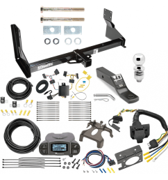 trailer hitch and brake control kit for 14 18 mercedes benz sprinter freightliner 2500 3500 tekonsha prodigy p3 brake controller  [ 1000 x 1000 Pixel ]