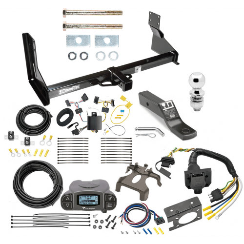 small resolution of trailer hitch and brake control kit for 14 18 mercedes benz sprinter freightliner 2500 3500 tekonsha