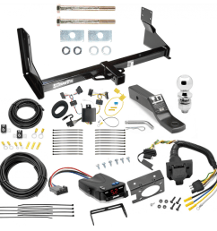 trailer hitch and brake control kit for 07 13 mercedes benz sprinter freightliner dodge 2500 3500 controller 7 way rv wiring harness  [ 1000 x 1000 Pixel ]