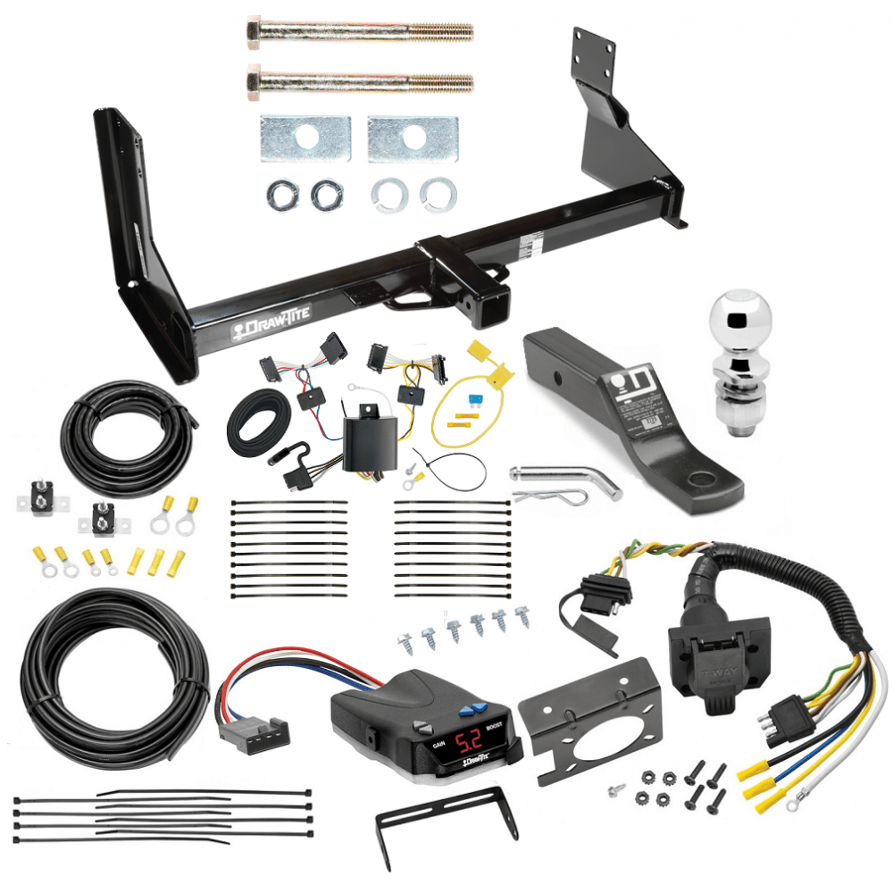 hight resolution of trailer hitch and brake control kit for 07 13 mercedes benz sprinter freightliner dodge 2500 3500 controller 7 way rv wiring harness