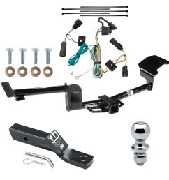 trailer tow hitch for 09 20 ford flex complete package w wiring and 1 7 8 ball [ 1000 x 1000 Pixel ]