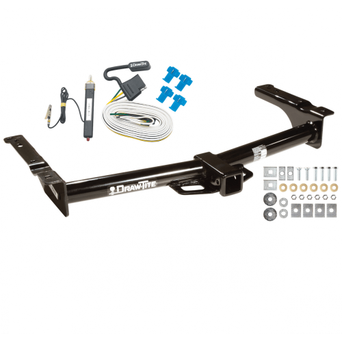 small resolution of trailer tow hitch for 75 91 03 07 ford van e100 e150 e250 e350 w wiring harness kit