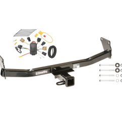 trailer tow hitch for 07 10 jeep compass 07 patriot w wiring harness kit [ 1000 x 1000 Pixel ]