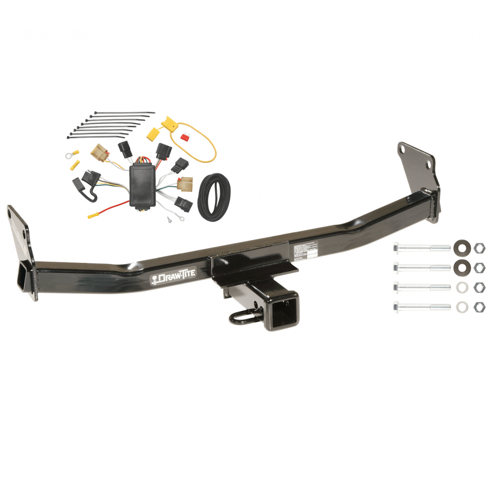 medium resolution of trailer tow hitch for 07 10 jeep compass 07 patriot w wiring harness kit