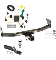 trailer tow hitch for 08 17 jeep patriot complete package w wiring and 1 7 8 ball [ 1000 x 1000 Pixel ]