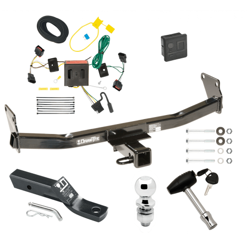 small resolution of trailer tow hitch for 08 17 jeep patriot deluxe package wiring 2 ball and lock