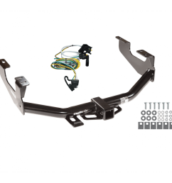 trailer tow hitch for 97 04 ford f150 flareside 00 03 supercrew w wiring harness kit [ 1000 x 1000 Pixel ]