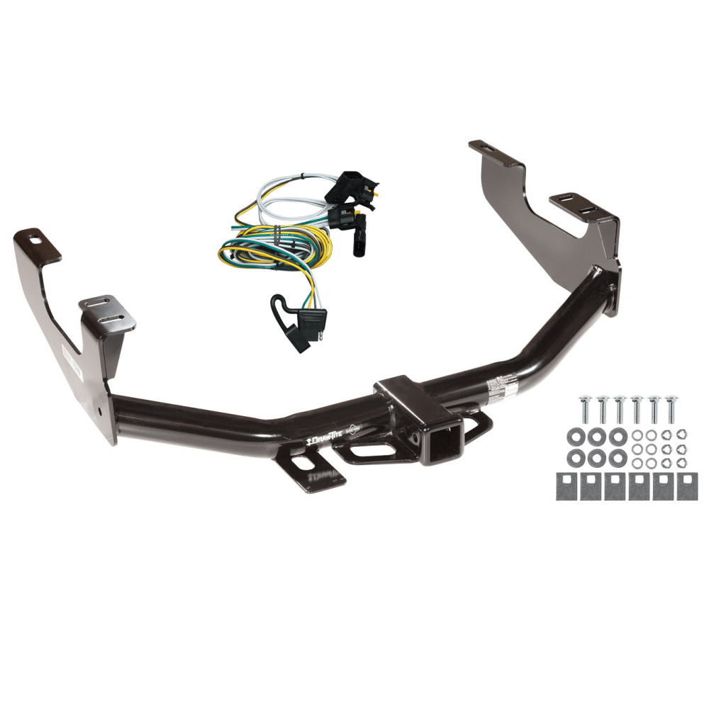 hight resolution of trailer tow hitch for 97 04 ford f150 flareside 00 03 supercrew w wiring harness kit
