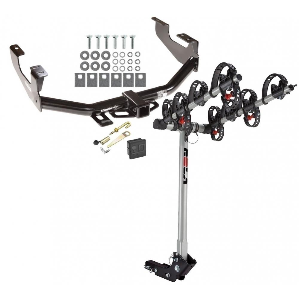 Trailer Tow Hitch For 97-07 Ford F150 F250 F350 4 Bike