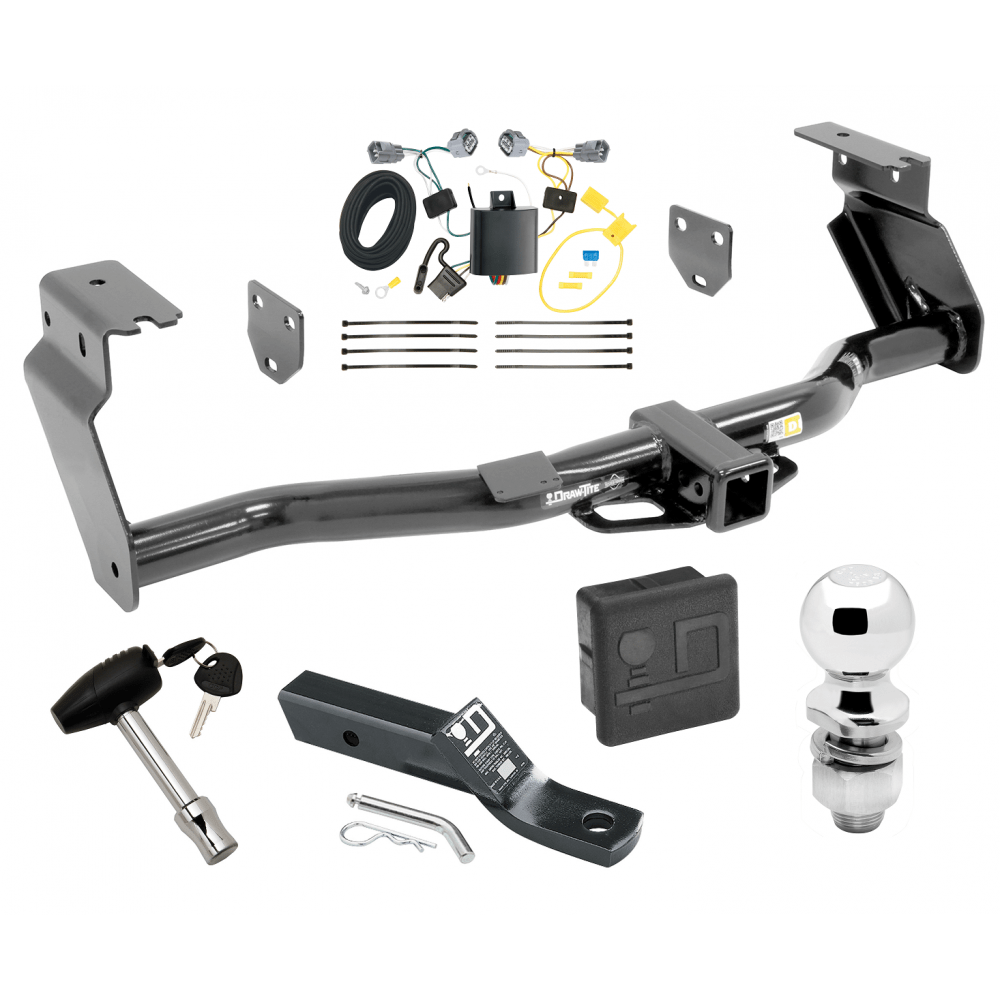 medium resolution of trailer tow hitch for 14 15 jeep cherokee trailhawk deluxe package wiring 2 ball and lock