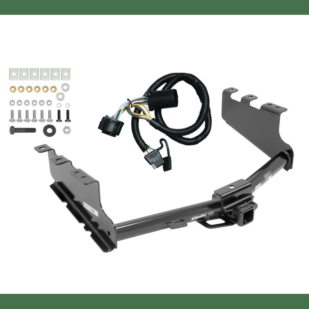 medium resolution of trailer tow hitch for 14 18 chevy silverado gmc sierra 1500 w wiring harness kit