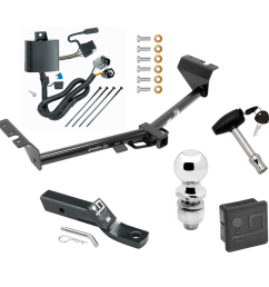 trailer tow hitch for 15 17 kia sedona deluxe package wiring 2 ball and lock [ 1000 x 1000 Pixel ]