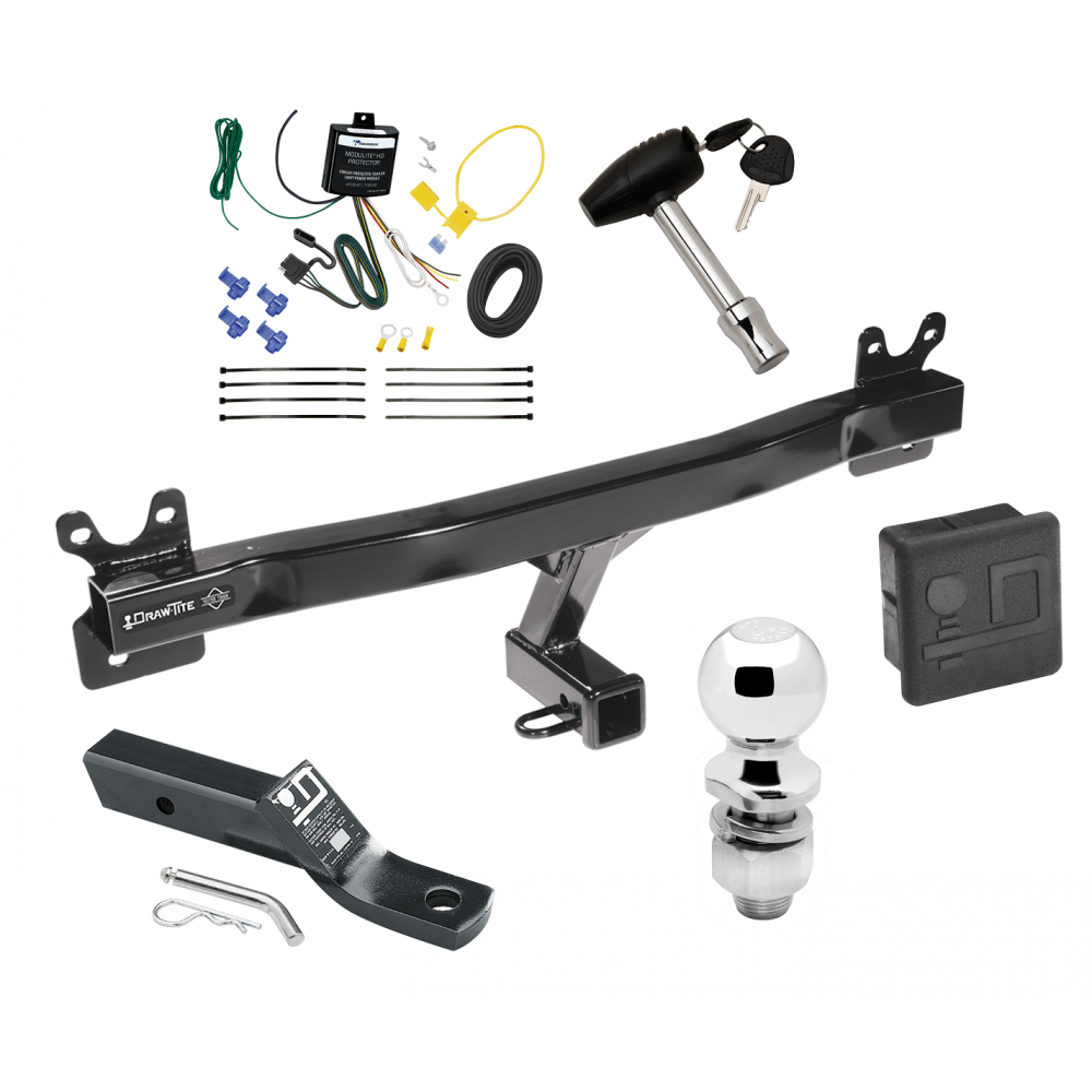 medium resolution of trailer tow hitch for 11 13 volvo s60 sedan deluxe package wiring 2 ball and lock