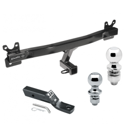 trailer tow hitch for 11 18 volvo s60 15 17 v60 08 10 v70 08 16  [ 1000 x 1000 Pixel ]