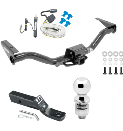 trailer tow hitch for 15 19 chevy colorado gmc canyon complete trailer hitch w wiring kit fits 20152016 chevy colorado gmc canyon [ 1000 x 1000 Pixel ]