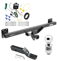 trailer tow hitch for 07 16 audi q7 11 17 porsche cayenne complete package w wiring  [ 1000 x 1000 Pixel ]