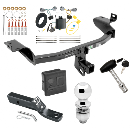 small resolution of trailer tow hitch for 2019 jeep cherokee deluxe package wiring 2 ball and lock
