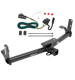 trailer tow hitch for 07 09 chevy equinox pontiac torrent w wiring harness kit [ 1000 x 1000 Pixel ]