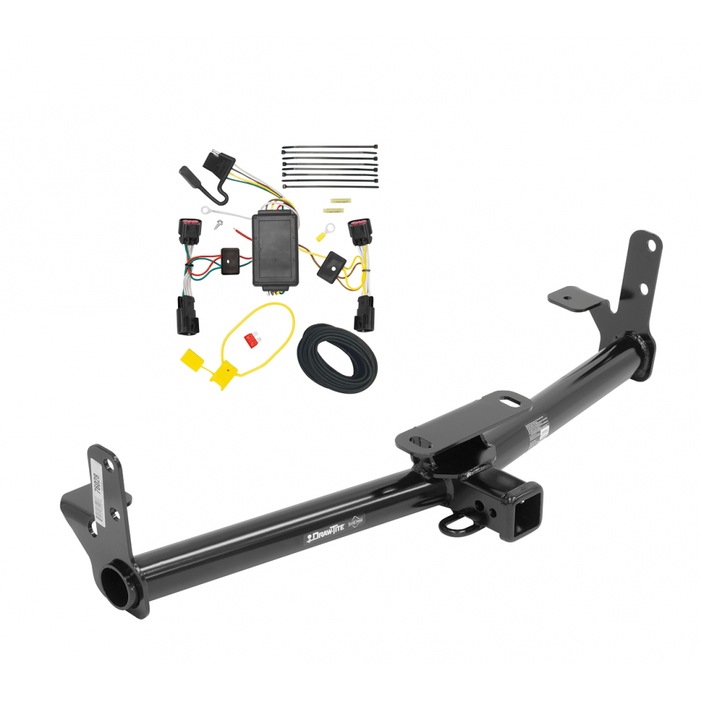 medium resolution of trailer tow hitch for 10 17 chevy equinox gmc terrain w wiring harness kit