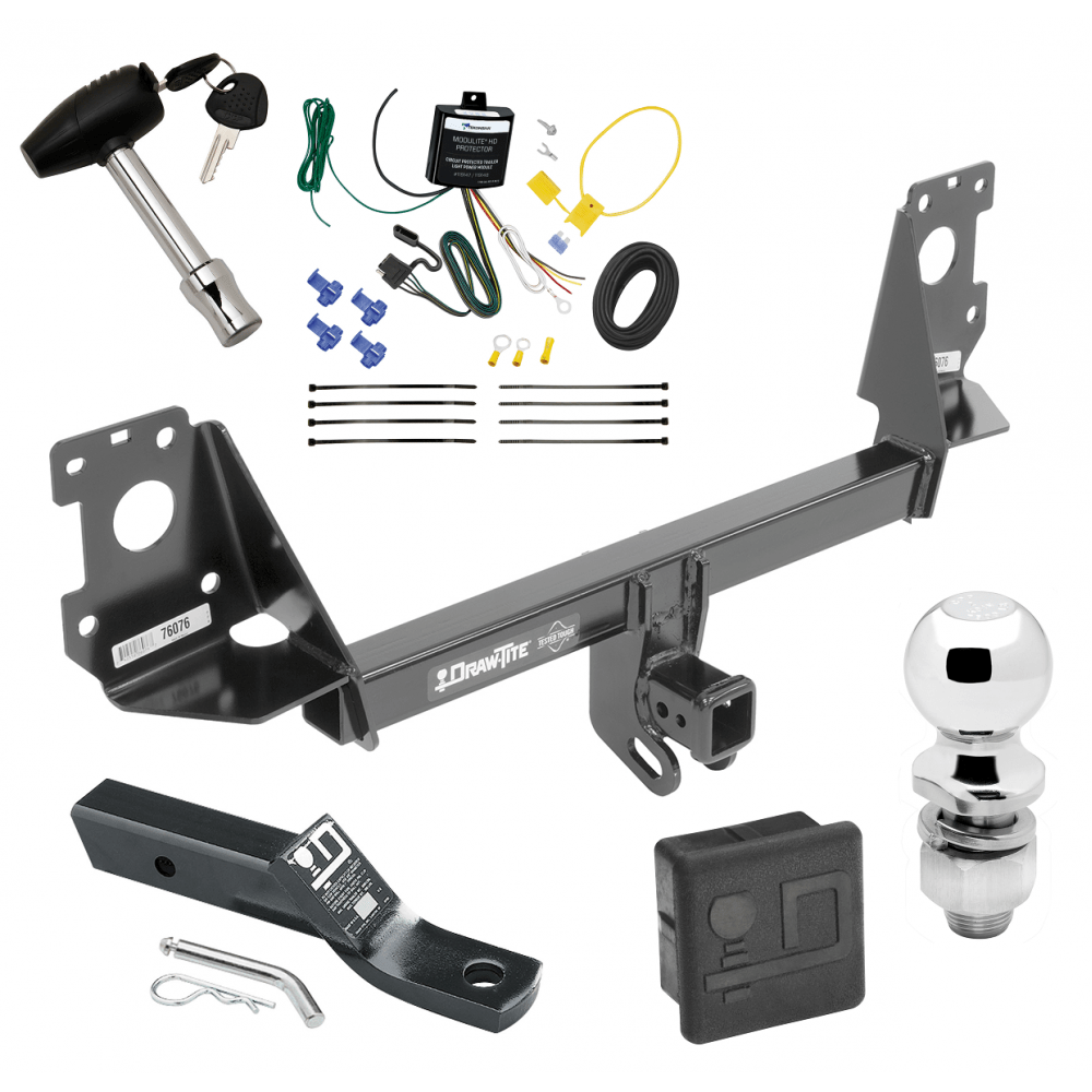 medium resolution of trailer tow hitch for 17 19 audi q7 deluxe package wiring 2 ball and lock