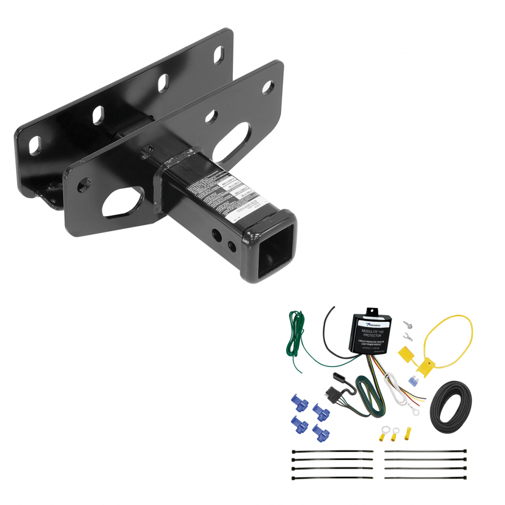 hight resolution of trailer tow hitch for 18 19 jeep wrangler jl sahara and rubicon w wiring harness kit