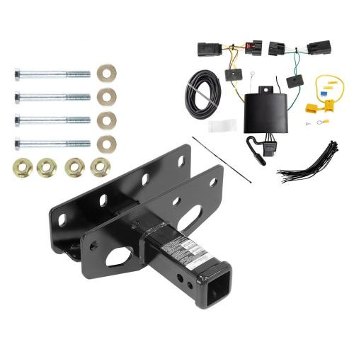 small resolution of trailer tow hitch for 18 19 jeep wrangler jl including sahara and rubicon w