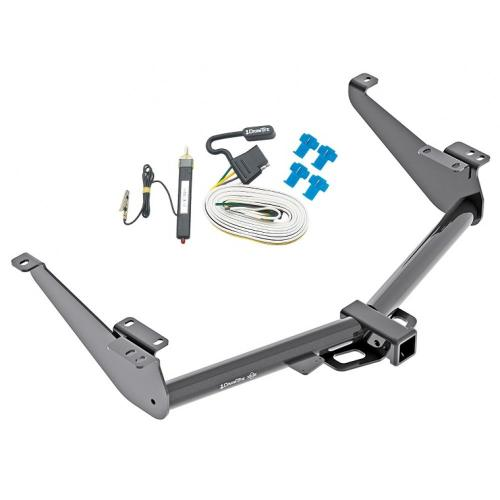 small resolution of trailer hitch for 17 18 nissan titan except titan xd tow receiver w wiring harness kit