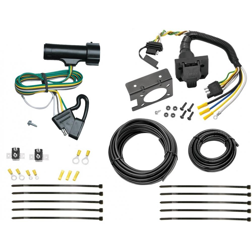 hight resolution of 80 86 ford f150 f250 f350 bronco 83 85 ranger 7 way rv trailer 7 way trailer wiring f250