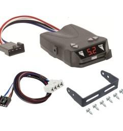 trailer brake control for 07 09 chrysler aspen w plug play wiring adapter reese brakeman iv  [ 1000 x 1000 Pixel ]