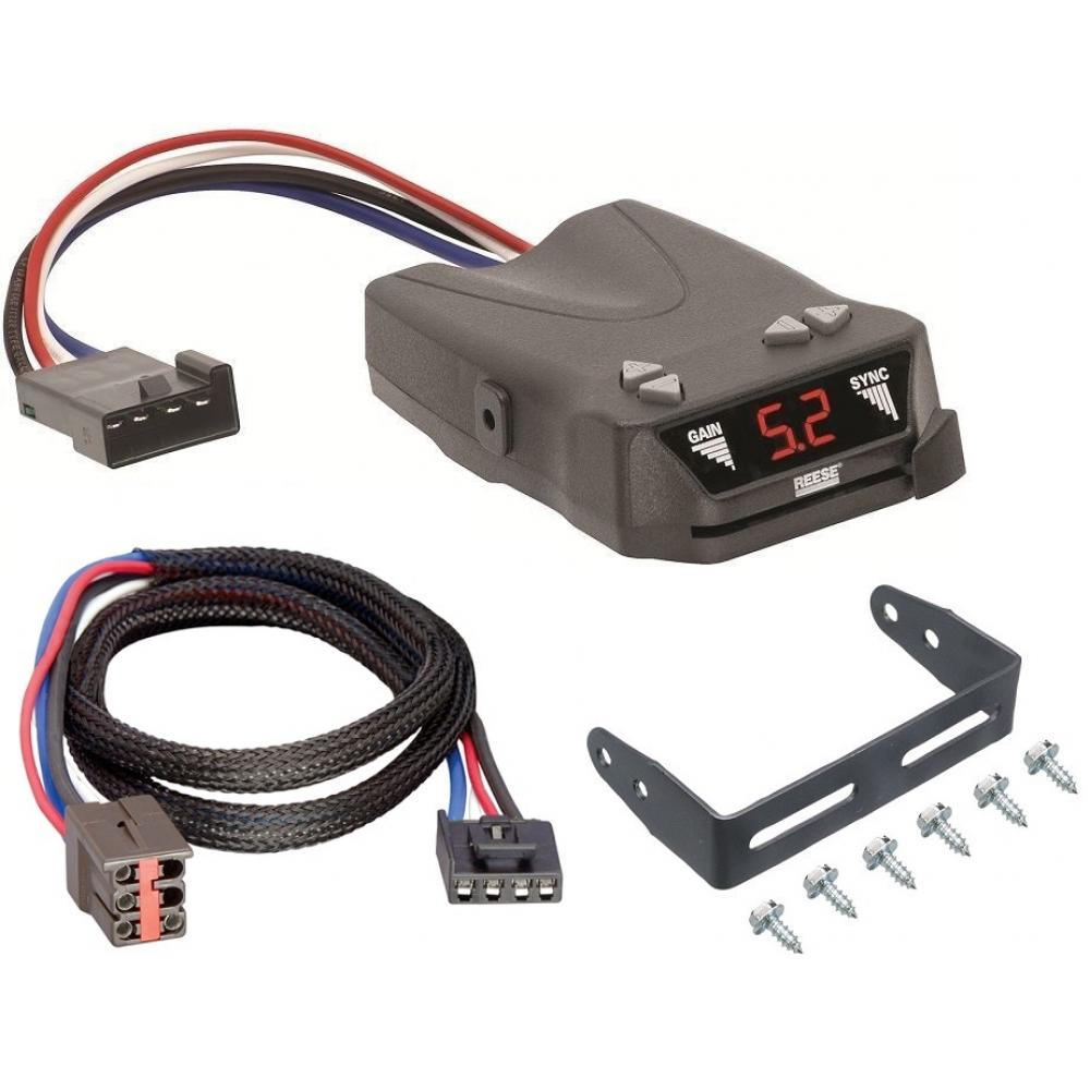 hight resolution of trailer brake control for 94 08 ford f 150 w plug play wiring adapter reese brakeman